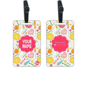 Customized Children Luggage Tags - Add your Name - Set of 2