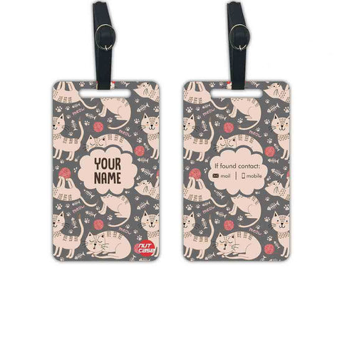 Personalised Childrens Luggage Tags Add your Name - Set of 2