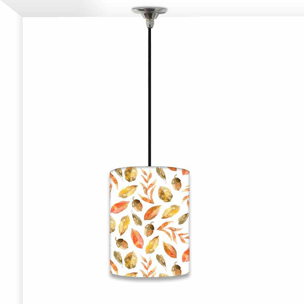 Ceiling Hanging Pendant Lamp Shade - Orange Leaf
