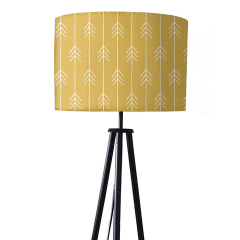 Tripod Floor Lamp Standing Light for Living Rooms -Yellow Arrows