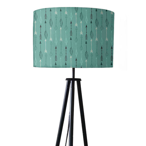 Tripod Floor Lamp Standing Light for Living Rooms -Shades Of Blue