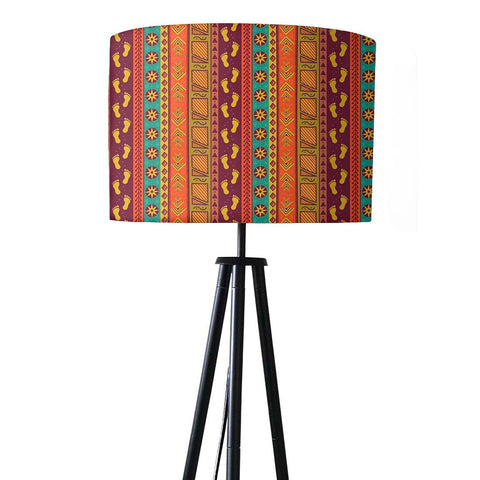 Tripod Floor Lamp Standing Light for Living Rooms -Indian Footprint