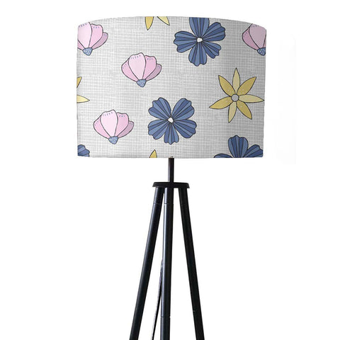 Tripod Floor Lamp Standing Light for Living Rooms -Lilac