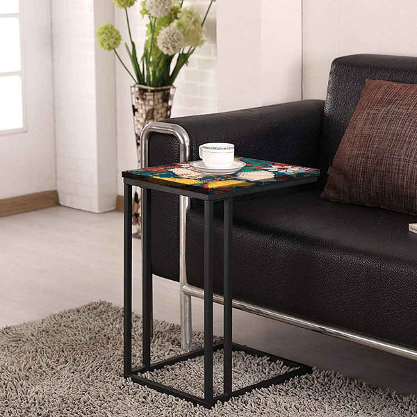 Beautiful Floral Metal C Table Online
