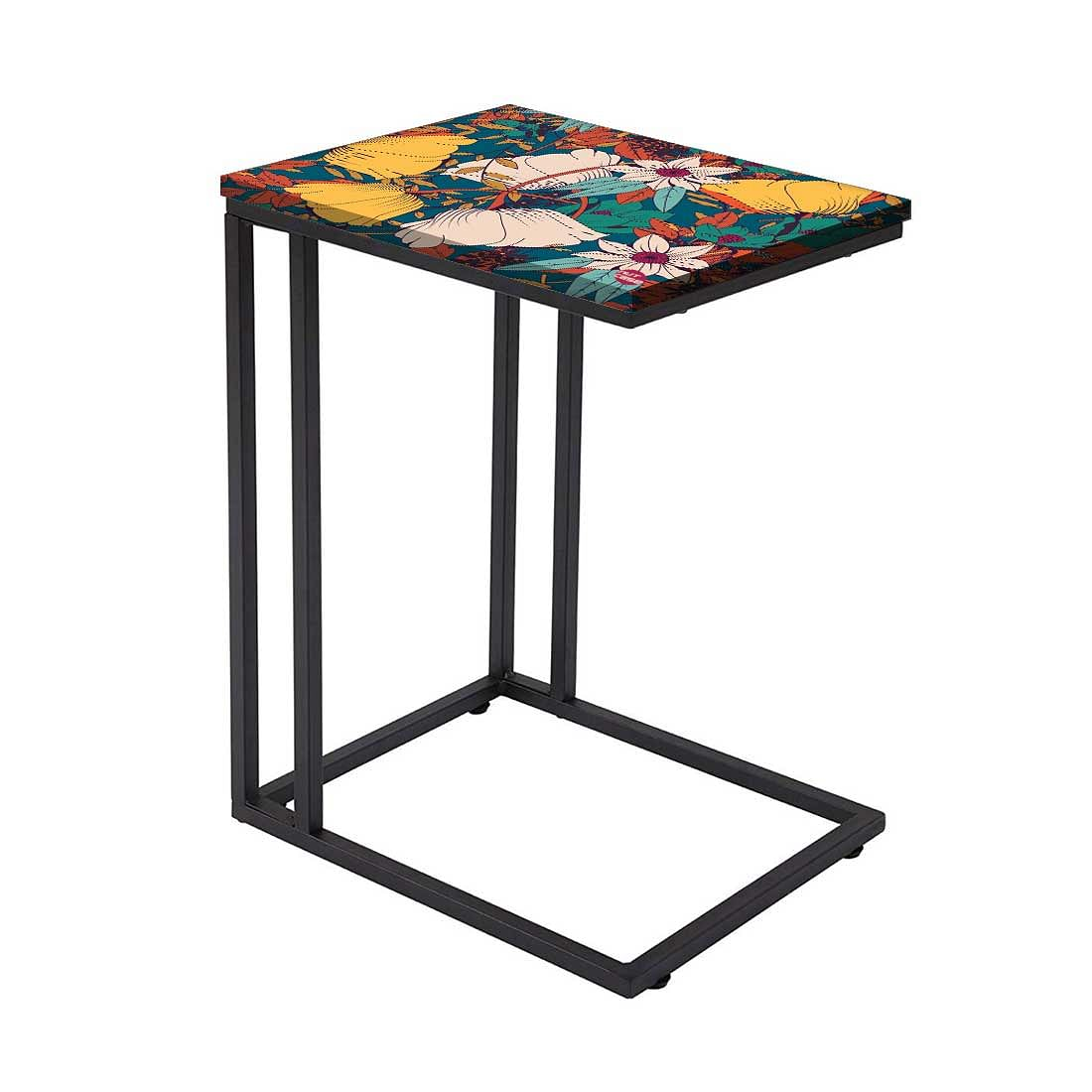 Beautiful Floral Metal C Table