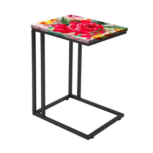 Designer Floral Metal C Table