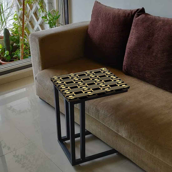 Buy C Shaped End Table For Sofa Online