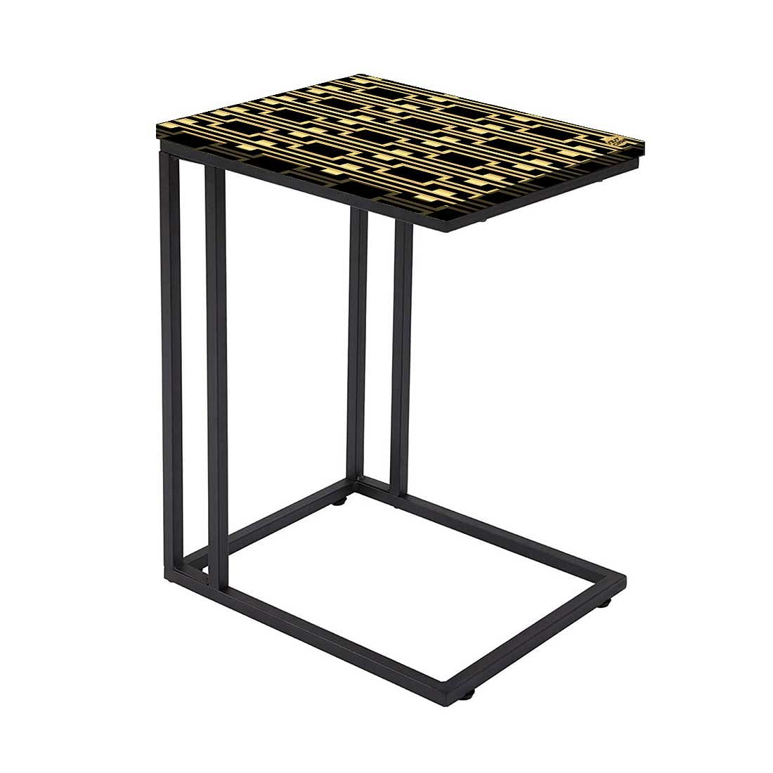 C Shaped End Table For Sofa
