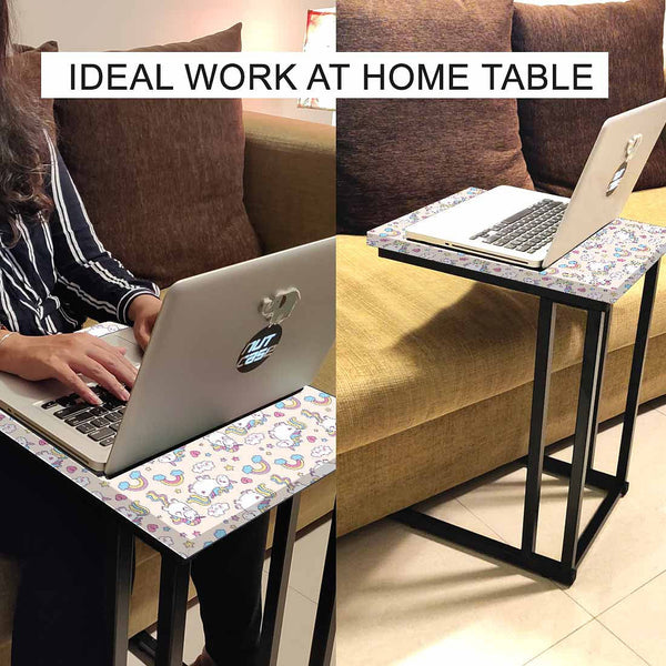 C Shaped Laptop Table for Children - Unicorn