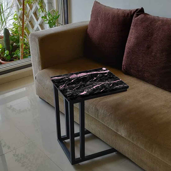 Black Marble C Table For Sofa Online in India