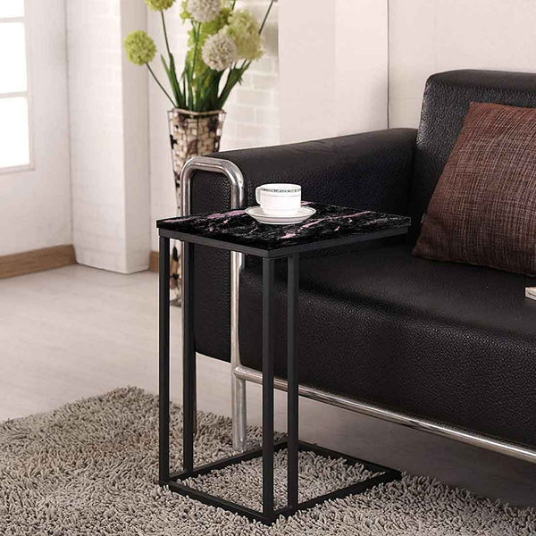Black Marble C Table For Sofa Online