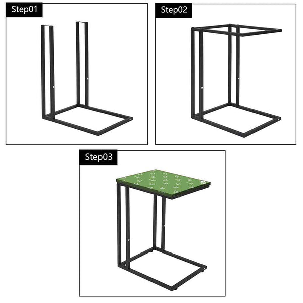 Best Metal C Table for Sofa - Green Grass