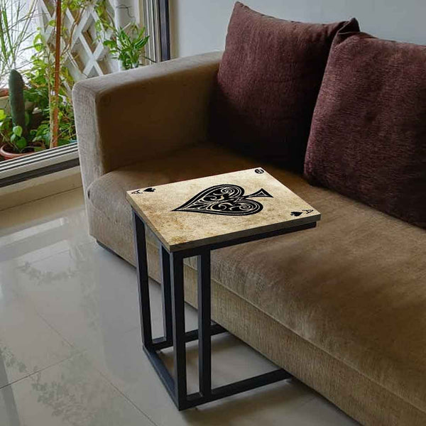 Buy Black C Shaped Table For Sofa Online