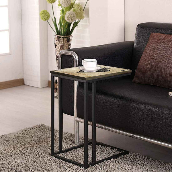 Black C Shaped Table For Sofa Online