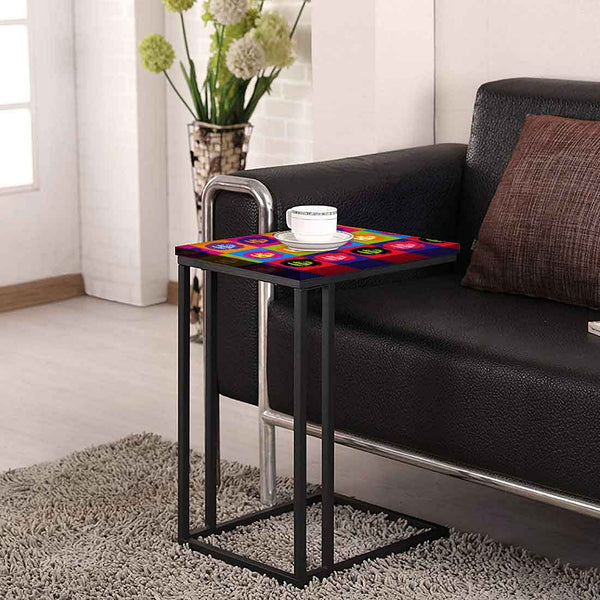 C Shaped Side Table For Sofa Online