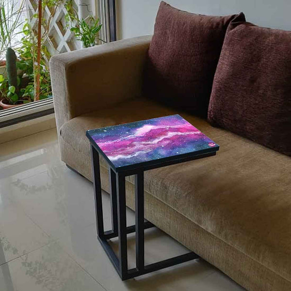 Buy Beautiful Black C Shaped Table Online