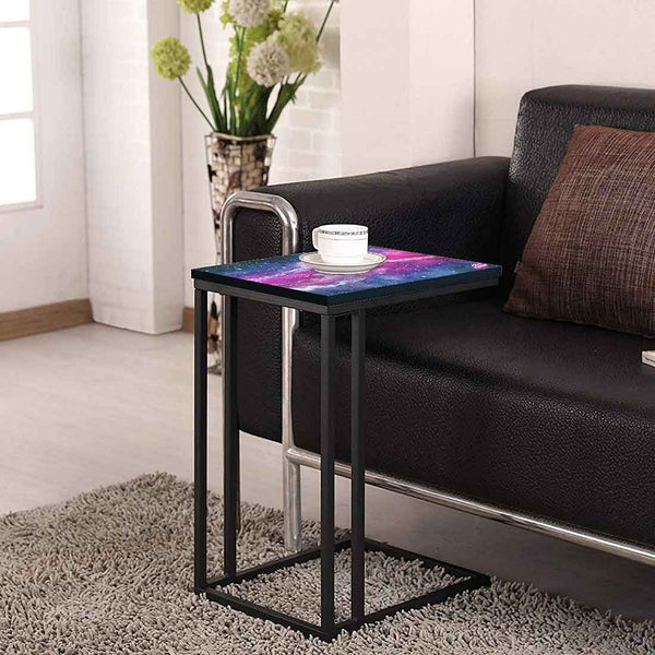 Beautiful Black C Shaped Table Online