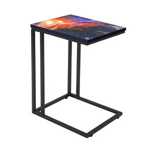Beautiful C Shaped End Table