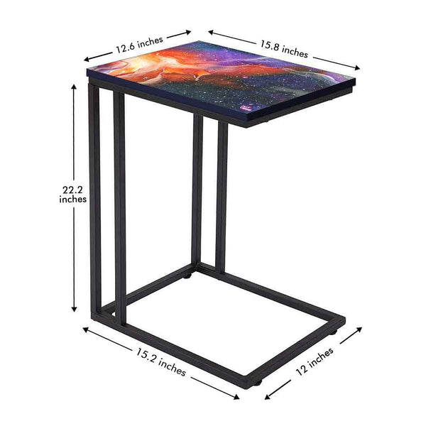 Beautiful C Shaped End Table Online in India