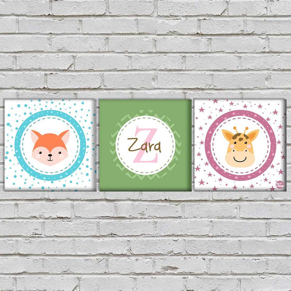 Personalized Baby Room Wall Art
