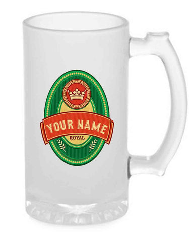 Buy Custom Beer Mug Glass Online