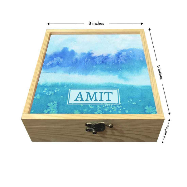 Personalized Jewelry Box wooden