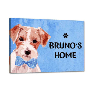 Buy online customized dog sign