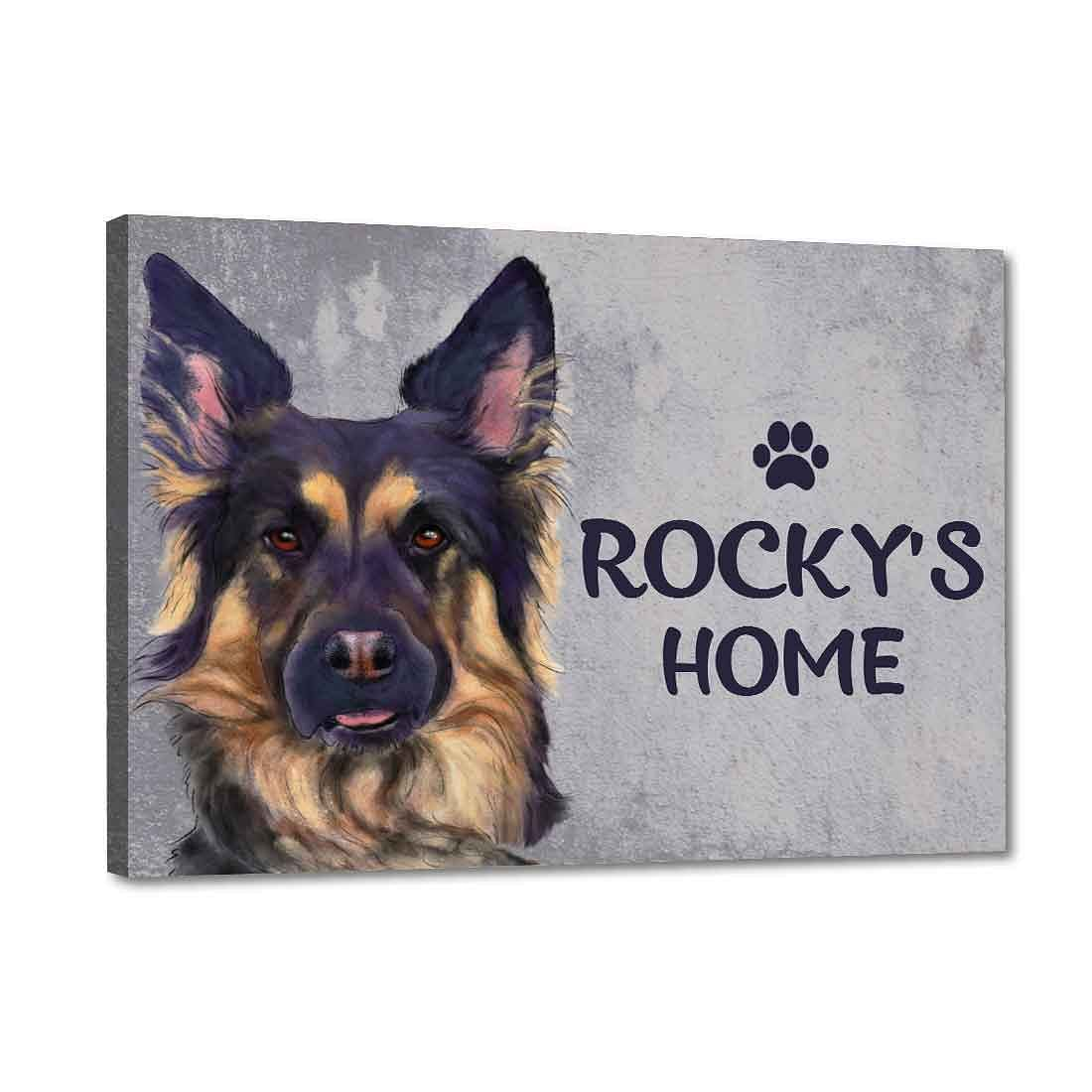 Customized Dog Name Plate
