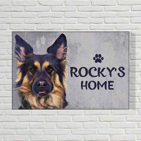 Customized Dog Name Plate Online in India