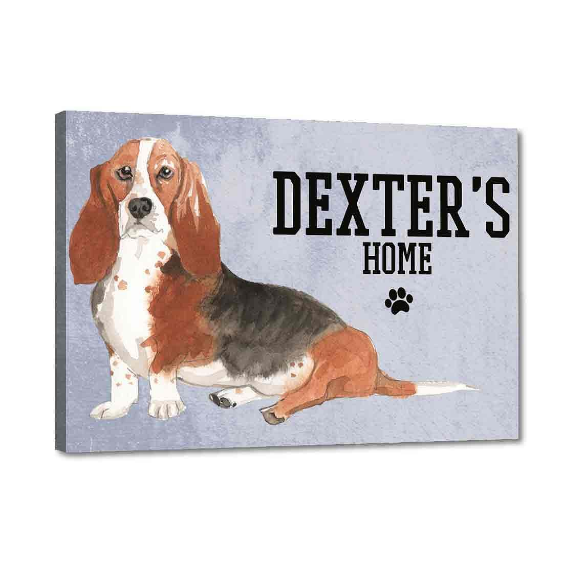 Beautiful Customized Nameplate for Pets