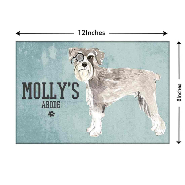 personalized dog name plate