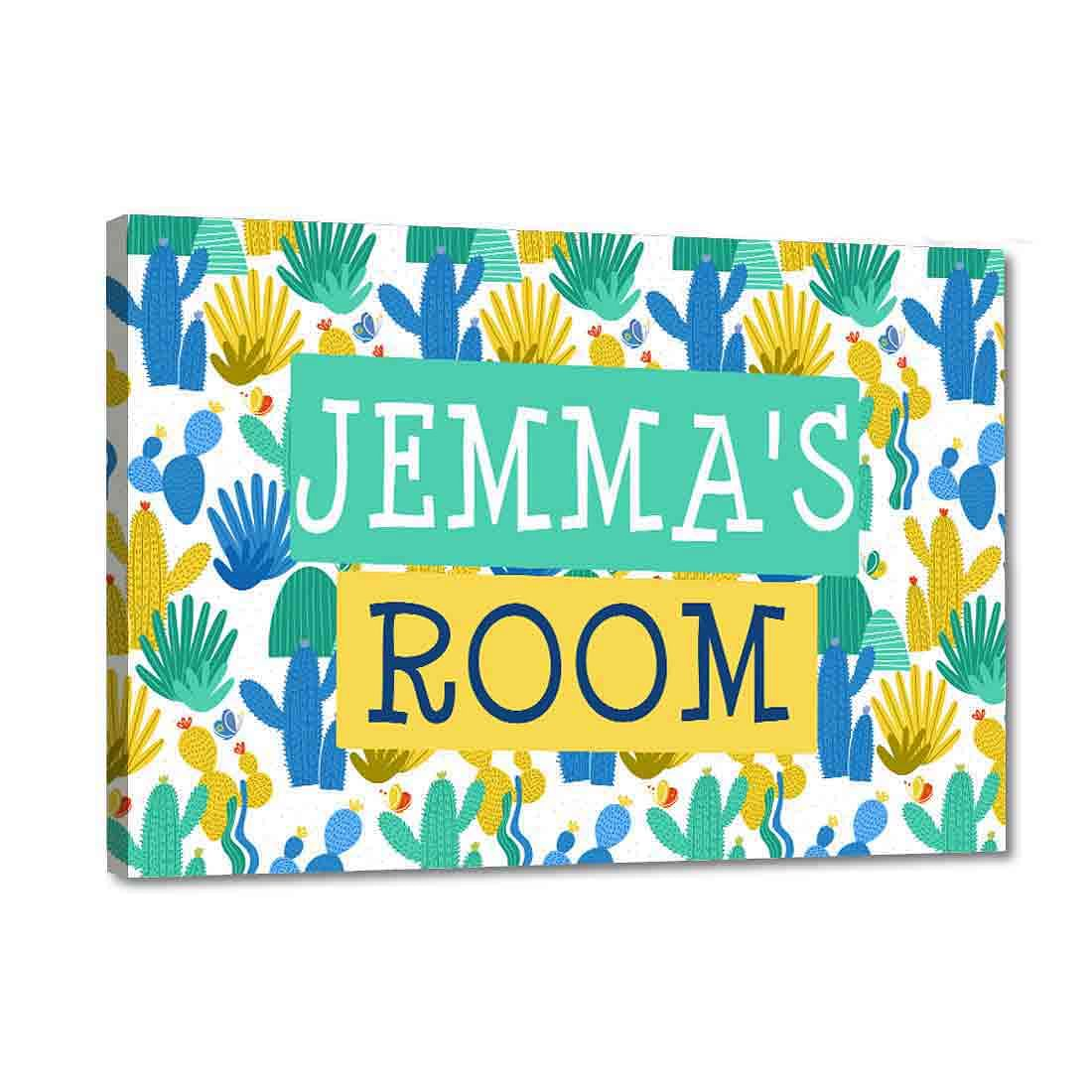 children's name plate