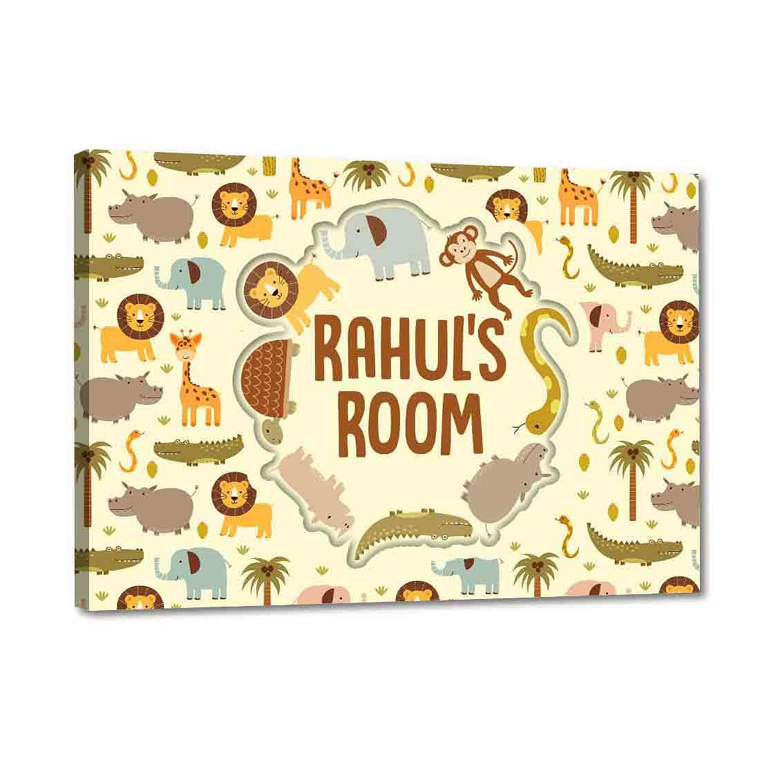 personalized name plates for kids room