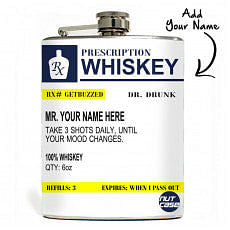 Nice Personalized Hip Flask