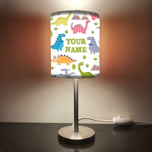 Personalized Kids Bedside Night Lamp-Mini Dinosaur