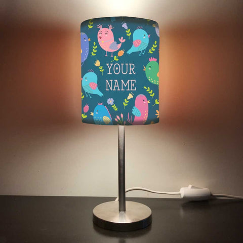 Personalized Kids Bedside Night Lamp-Chicks