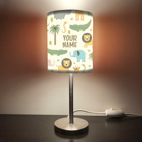 Personalized Kids Bedside Night Lamp-Animals