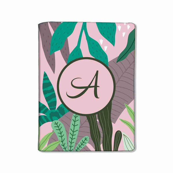 Customized Travel Document Holder  -Pink Tropical Vibes - Nutcase