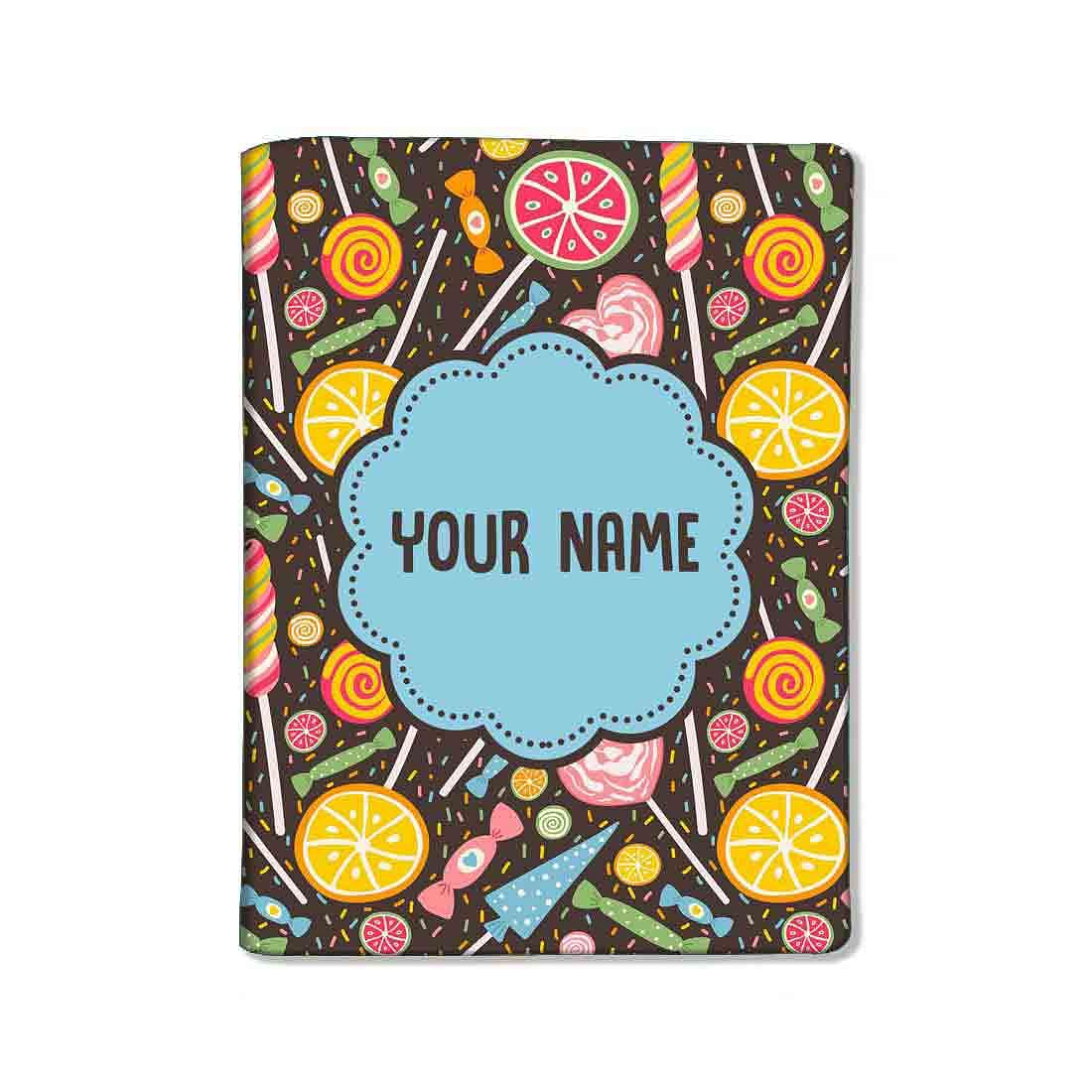 Customized Travel Document Holder  -Lemon and Candy - Nutcase
