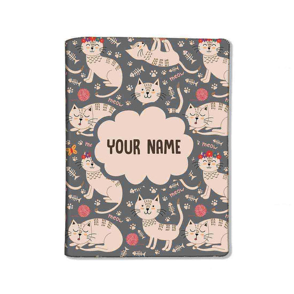 Customized Travel Document Holder  -Cut Cat - Nutcase