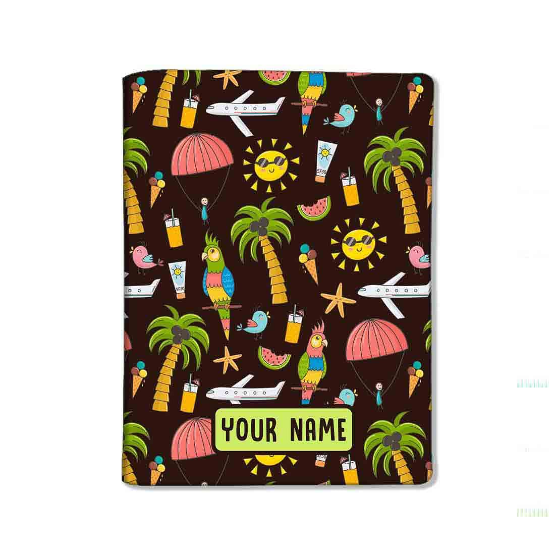 Customized Travel Document Holder  -Summer Adventure - Nutcase