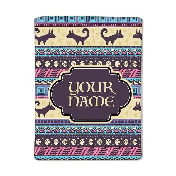 Customized Travel Document Holder  -Vintage Design - Nutcase