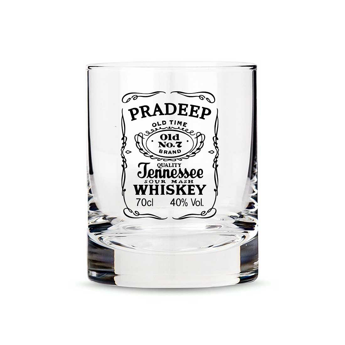 Exclusive Custom Whiskey Glass