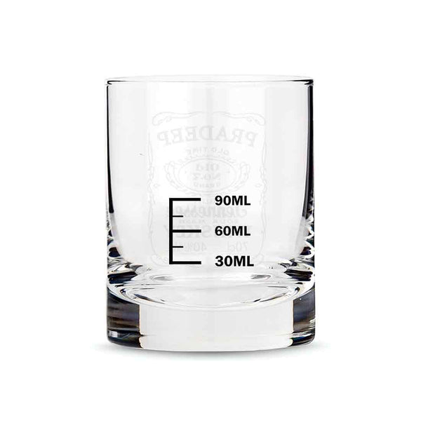 Exclusive Custom Whiskey Glass - Gift For Him Husband Boyfriend