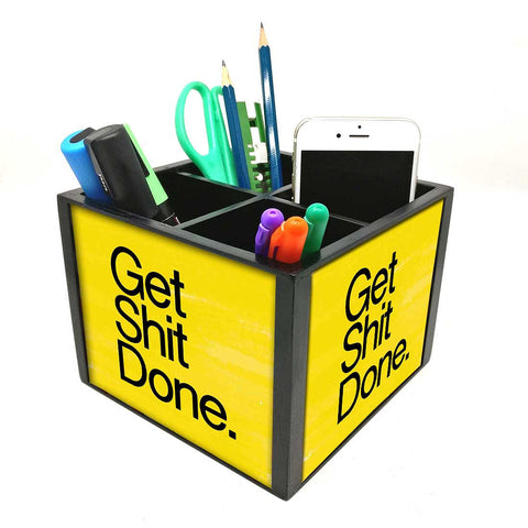 Desk Organizer For Stationery -  Get Shine Done
