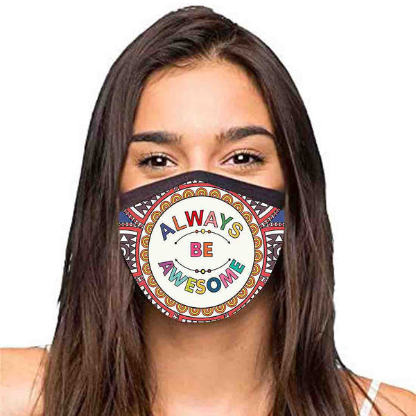 Face Masks Reusable Washable Set Of 2 -Always_Happy
