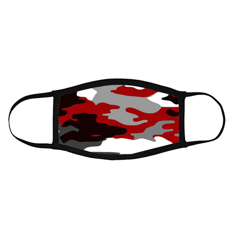 Face Masks Reusable Washable Set Of 2 -Red_Camo