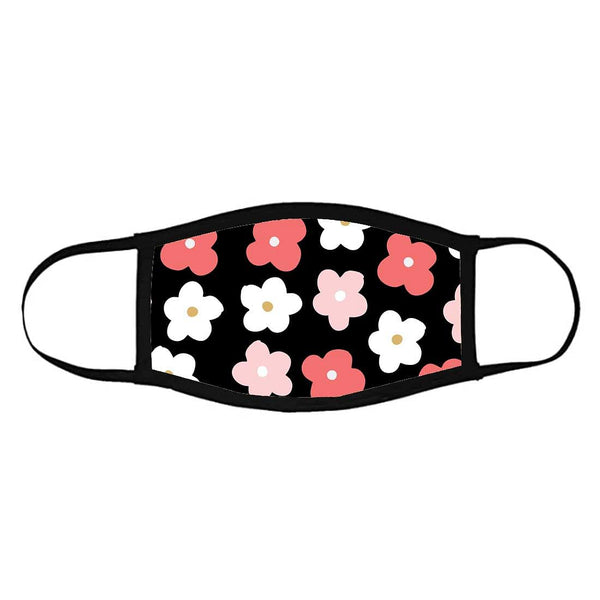 Face Masks Reusable Washable Set Of 2 -Pinkflowers