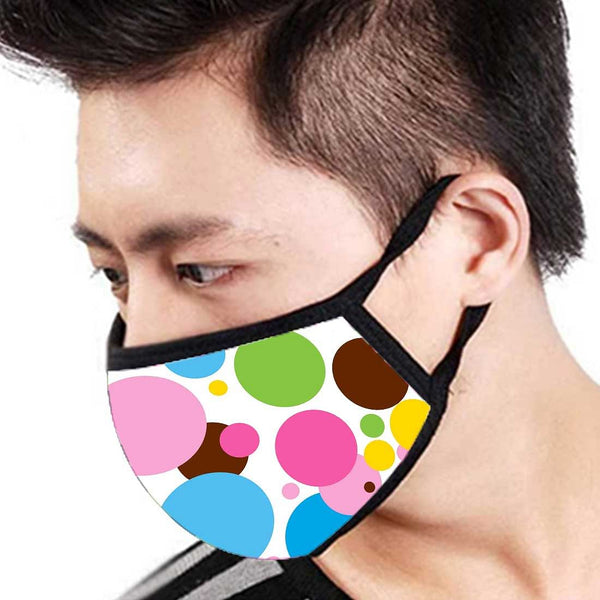 Buy 3 layer face mask set of 6