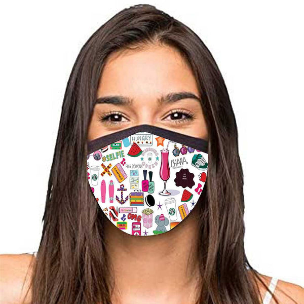 Face Masks Reusable Washable Set Of 2 -Teen_Talk